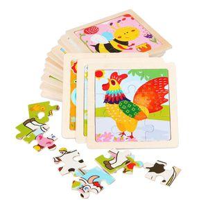 Holz Puzzle Für Kleinkind Kinder Hand Greifen Puzzle Spielzeug Früherziehung
