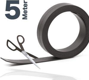5 Meter Magnetklebeband Magnetstreifen Metallband Magnetfolie Band Klebeband Magnet Magnetband Klebe(1,19€/m)