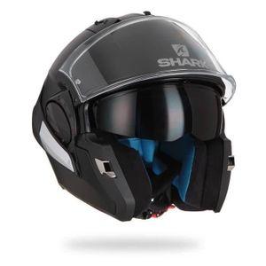 SHARK Modular Evo One Motorradhelm Special - Mattschwarz