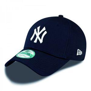 New Era Cap 9FORTY League Basic NY Yankees Navy/White Kids Youth, Cap:Kids
