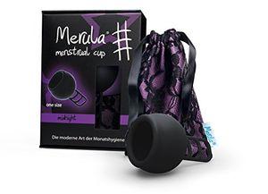Merula Menstrual Cup - Menstruationstasse MIDNIGHT (schwarz)