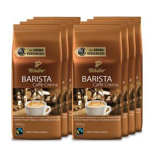 Tchibo Barista Caffè Crema  ganze Bohne 8 kg (8 x 1 kg)