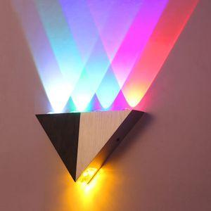 5W LED Wandleuchte Wandlampe Bunte RGB  wandlampe LED Dekoration Wandleuchte für Bar Gang Wandleuchte Korridor Eingangslampe