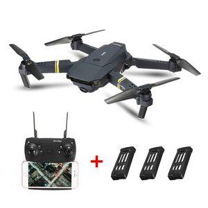 (0,3 MP Drei-Batterien-Set) Eachine E58 720P WIFI FPV Selfie-Drohnen-Quadcopter mit faltbarem Arm und hohem Haltemodus