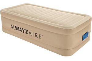 Bestway AlwayzAire  Advanced Luftbett mit integrierter Elektropumpe Single XL/Hi 191 x 97 x 51 cm