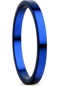 Bering Innenring schmal Aluminium  blau 554-79-X1, Bering Größe:9