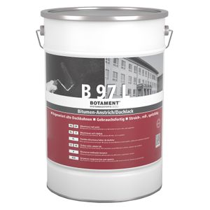 Botament B 97L Bitumen-Anstrich Dachlack 5 Liter