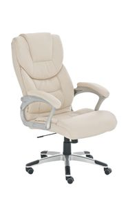 Bürostuhl CP227, Bürosessel Drehstuhl  creme