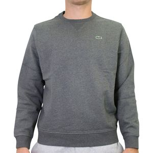Lacoste Fleece-Sweatshirt Herren Grau (SH1505 GY2) Größe: 5 (L)