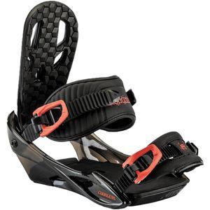 Nitro Kinder Snowboardbindung Charger , Größe:M, Farben:red