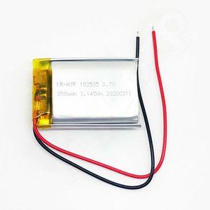 Details zu  1x Lipo Akku 850mAh 1s 3,7V ohne Stecker 102535 Lipolymer ersetzt 800mAh 1000mAh