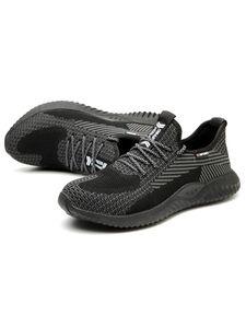 Herren Einfarbig Breathable Sock Sneakers Sportschuhe Turnschuhe Plateau Sneaker ,Farbe: Schwarz,Größe:45