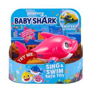 PINKFONG ZURU Baby Shark Badewanne Toys Alive Kinder Spielzeug ROBO Fisch PINK