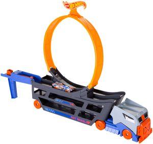 Hot Wheels Stunt N Go Transporter & Trackset