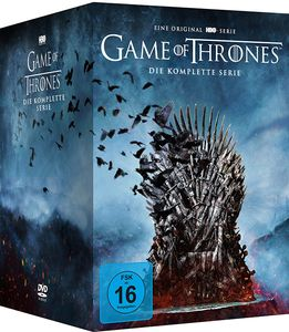 *Game of Thrones - kompl.BOX(DVD) 38Disc Die komplette Serie, Staffel 01-08 - WARNER HOME  - (DVD Video / Romantik)