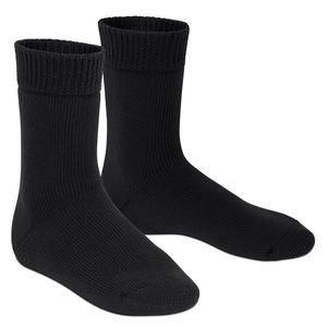 1 Paar Extra Thermo Winter Socken schwarz-39-42