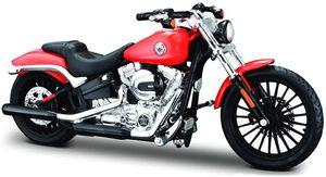 Maisto 34360-35 - Modellmotorrad - HD Serie 35, Modell:2016 Breakout rot