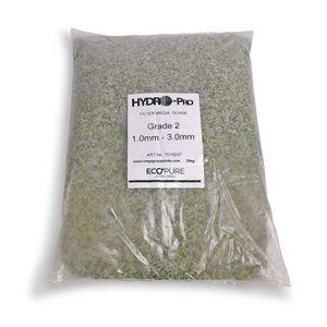 25 Kg Filterglas Grade 2 - 1,0 -3,0 mm