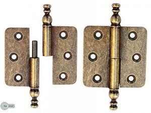 Stilbänder Zierscharniere Möbelband Möbelbänder Rechts Möbelscharniere A.Messing