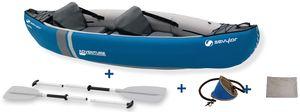SEVYLOR Adventure Inflatable Kayak Kit - 2-Sitzer - Blau