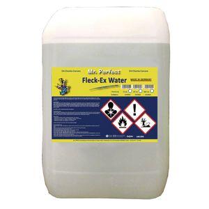 Mr. Perfect® Fleck-Ex Fleckenwasser, 25L - Textilreiniger beseitigt Verunreinigungen von Öl, Fett, Teer, Getränken, uvm.