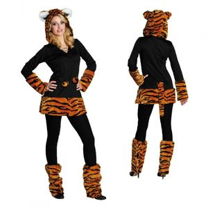 Tiger Katze Leopard Karneval Fasching Kostüm 42