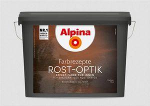 Alpina Effektfarbe Set Rost-Optik für innen