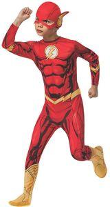 Flash Deluxe Comic Kostüm, Kind, Größe:L