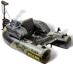 Black Cat Battle Boat Set - Bellyboot + Elektromotor