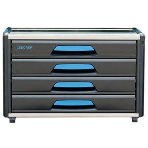 GEDORE 1110 WM 34 Werkzeug-Box-Modul WorkMo B3, 4 Schubladen H6, 2954346