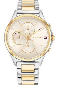 Tommy Hilfiger Damen Multi Zifferblatt Gold/Mehrfarbig Edelstahl Armbanduhr | 1782264