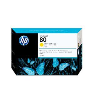HP 80 Tintenpatrone - Gelb - Tintenstrahl - 4400 Seiten - 1er Pack
