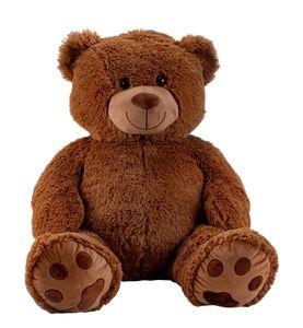 Teddybär dunkelbraun 100 cm XXL Kuscheltier Bär 1m Teddy
