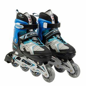 Inliner Joerex verstellbar Gr. 35-38 ABEC7 blau Hockey Skates