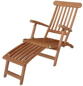 KMH® Deckchair *Classic* echt TEAK
