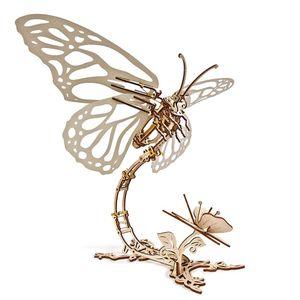 Ugears - Holz Modellbau Butterfly Schmetterling 161 Teile