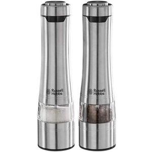 Russell Hobbs Edelstahl classics Salz- und Pfeffermühle mit elektrisc