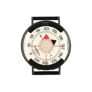 SUUNTO M-9 Armband-Peilkompass, 360-Grad-Einteilung,, drehbare Kapsel, Klett-Band, Kunststoffschließe