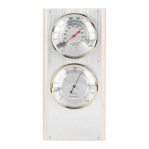 Mllaid Sauna Thermometer Hygrometer Holzthermometer Hygrometer 2 in 1 Luftfeuchtigkeit Temperatur Messwerkzeug Sauna Zubehör