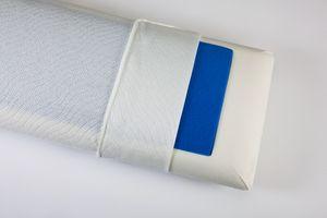 Relaxsan Visco-Kopfkissen Blue Line 35 x 75 cm, Höhe 14 cm
