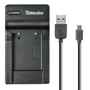 USB-Akku-Ladegerät kompatibel mit Sony NP-BK1, NP-FK1