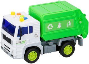 Kinder Spielzeug 1:20 LKW Laster Auto Müllabfuhr Müllauto Recycling Licht