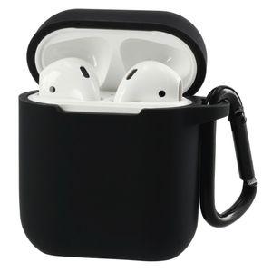 Hama Schutzhülle für Apple AirPods, Schwarz