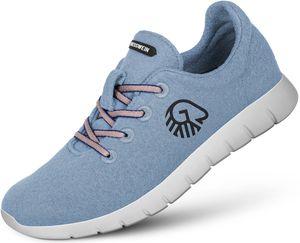 Giesswein Merino Wool Runners Damen himmelblau Schuhgröße EU 38