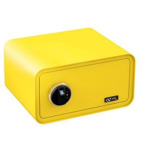 Olympia Go Safe 200 Tresor Design Safe, Fingerprint, Farbe: Zitronengelb
