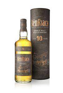 The BenRiach 10 Jahre in Geschenktube Single Malt Scotch Whisky | 43 % vol | 0,7 l