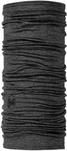 Buff Lightweight Merino Wool Schlauchschal solid grey