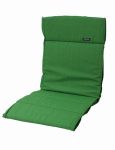 2 Stück MADISON Dessin Panama Sitzpolster, Sitzauflage für Gartensessel niedrig, Niedriglehner 75% Baumwolle, 25% Polyester, 100 x 50 x 4 cm, in grün