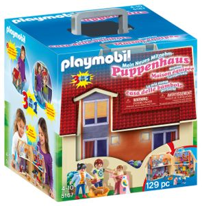 PLAYMOBIL Dollhouse 5167 Neues Mitnehm-Puppenhaus