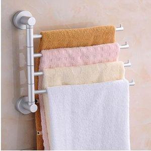 Rotary Handtuchhalter Regalwand hängenden Handtuchhalter Bad Handtuch -(4arm,)
